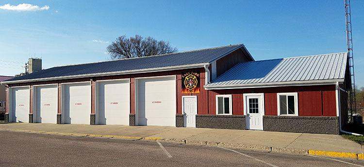 The Lake Park Fire Station received a face-lift in the summer of 2016.